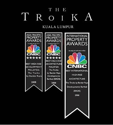 マレーシア不動産の最高峰「The Troika KLCC」01