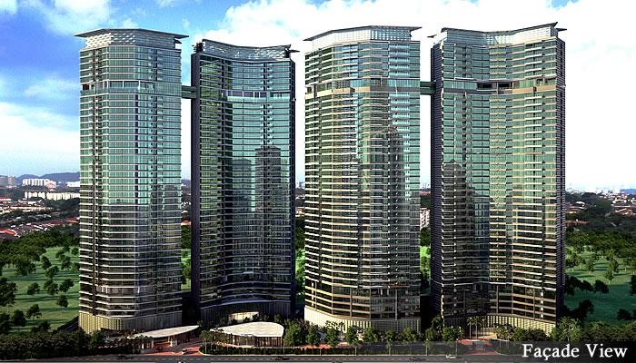 マレーシア不動産「Setia Sky Residences(セティア スカイ レジデンス)」外観