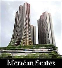 マレーシア不動産「Meridin Hotel Suites」