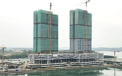 サザンマリーナ 建設進捗状況