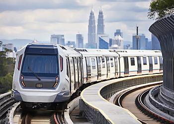 マレーシア不動産 MRT車両