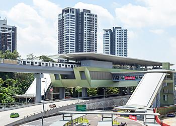 マレーシア不動産 MRT駅