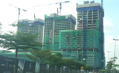 UMシティ 建設進捗状況